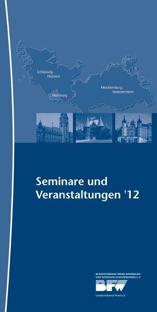 Seminare und Veranstaltungen '12 - Pantaenius