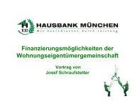 Finanzierungsmöglichkeiten der ... - Pantaenius