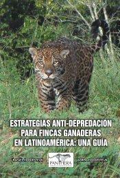 estrategias anti-depredación para fincas ganaderas en ... - Panthera