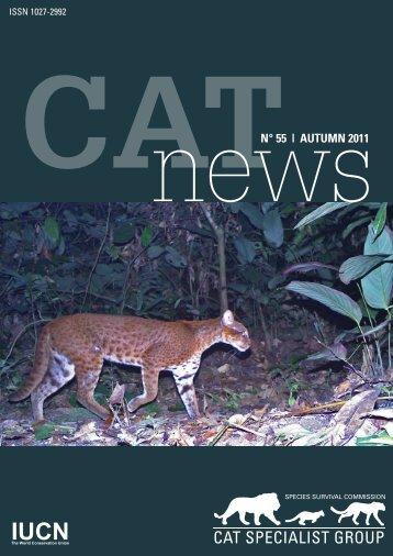 newsN° 55 | AUTUMN 2011 - Panthera