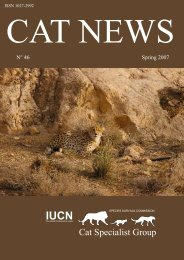 Conserving the Asiatic cheetah in Iran - Panthera
