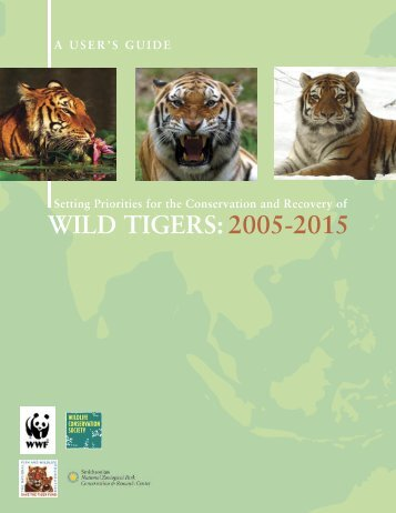 Setting Priorities for the Conservation and Recovery of Wild Tigers