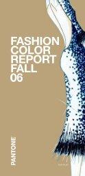 Pantone Fashion Color Report Fall 2006