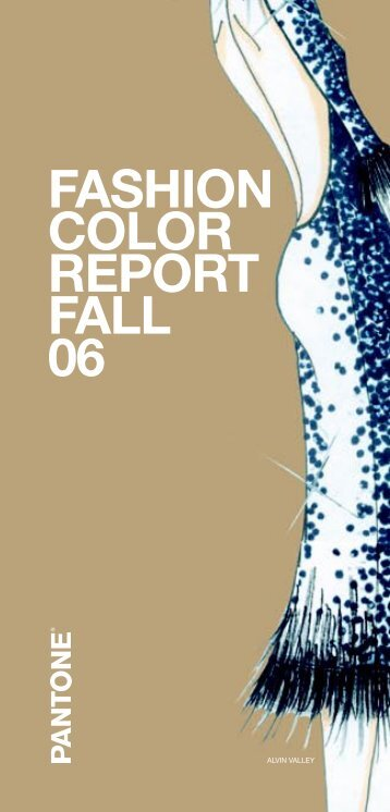 Pantone Fashion Color Report Fall 2006
