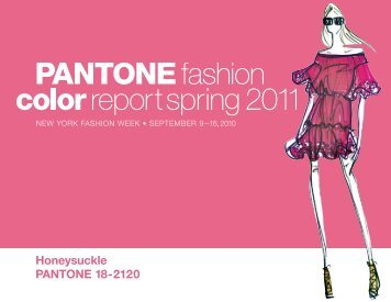 Fashion Color Report for Spring 2011 - Pantone