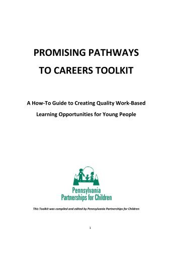 Promising Pathways to Careers Toolkit -- Employers -- Internships