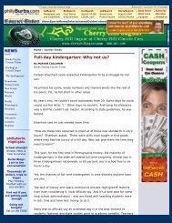Full-day kindergarten: Why not us? (phillyBurbs.com) - Pennsylvania ...