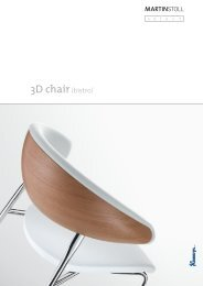 MARTIN STOLL 3D Bistro Chair - Pape+Rohde