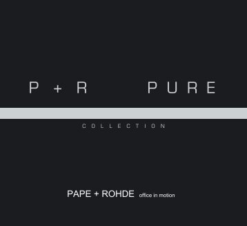 Katalog Design Collection PURE - Pape+Rohde