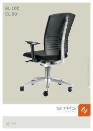 EL100 Bürostühle Sitag EL 100 Besucherstühle - Pape+Rohde