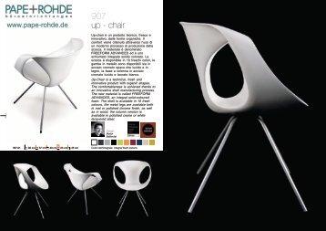 Prospekt Design Stuhl TONON UP CHAIR 907 STEEL - Pape+Rohde