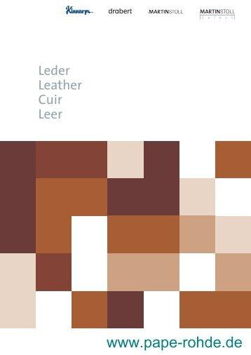 Lederkarte Drabert by Kinnarps - Pape+Rohde