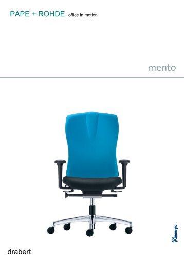 Drabert mento Bürodrehstuhl Bürostuhl Relax-o-flex - Pape+Rohde