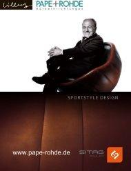Prospekt Lillus by Sitag Design Sessel - Pape+Rohde