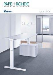 Kinnarps Works GE Katalog - Pape+Rohde
