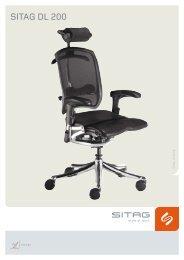 Sitag Prospekt Bürostuhl DL 200 - Pape+Rohde