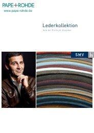 SMV Lederkollektionen - Pape+Rohde