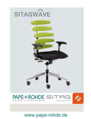 Sitag SITAGWAVE Bedienungsanleitung Bürostuhl ... - Pape+Rohde