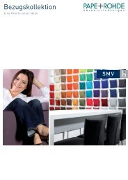 SMV Bezugskollektion Stoffe - Pape+Rohde