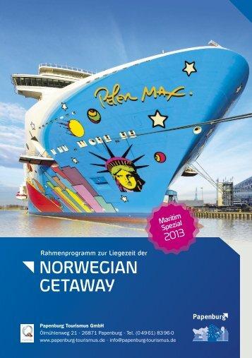 Maritim Spezial Norwegian Getaway - Papenburg Tourismus