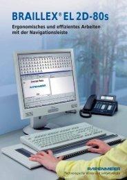 BRAILLEX®EL 2D-80s - FH Papenmeier GmbH & Co. KG