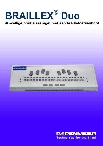 BRAILEX Trio - FH Papenmeier GmbH & Co. KG