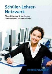Datenblatt Schüler-Lehrer-Netzwerk - FH Papenmeier GmbH & Co. KG
