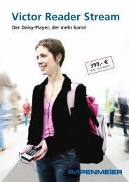 Datenblatt Victor Reader Stream - FH Papenmeier GmbH & Co. KG