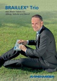BRAILLEX® Trio - FH Papenmeier GmbH & Co. KG