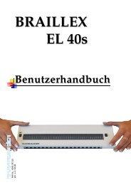 BRAILLEX EL 40s - FH Papenmeier GmbH & Co. KG