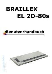 BRAILLEX EL 2D-80s - FH Papenmeier GmbH & Co. KG