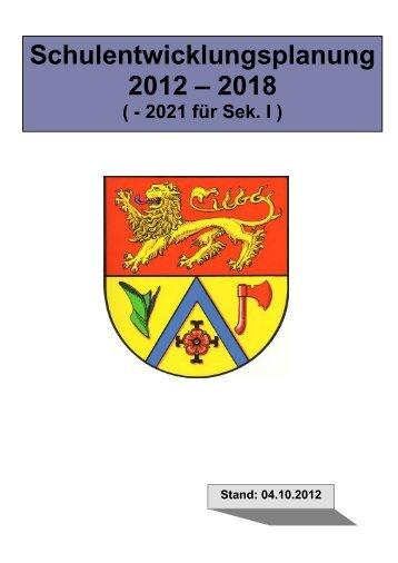Schulentwicklungsplanung 2012 – 2018 - Samtgemeinde Papenteich