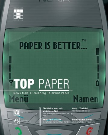 PAPER IS BETTER... - delfortgroup delfortgroup