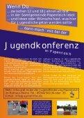 Jugendkonferenz Flyer mit Anmeldung - Samtgemeinde Papenteich - Seite 2