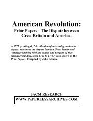 Thanksgiving History Documents 1678 To 2011 Paperless Archives
