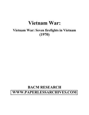 SEVEN FIREFIGHTS IN VIETNAM EPUB DOWNLOAD