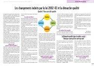Loi 2002 et la démarche qualité - Les Papillons Blancs de l'Essonne