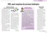 2003, année européenne des personnes handicapées