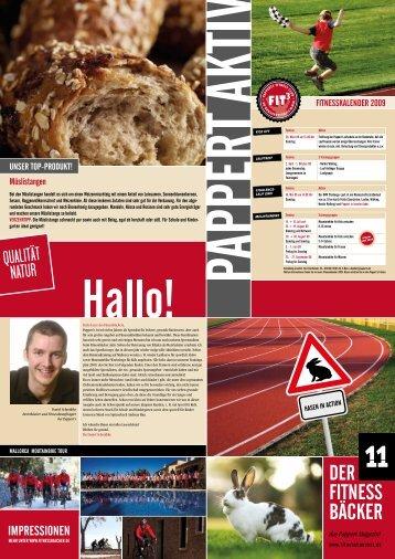 Fitnessbäcker Heft 11