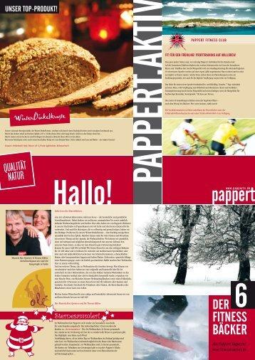 Fitnessbäcker Heft 06
