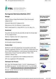 Korrigenda Betriebsmittelliste 2012 - Papst.ch
