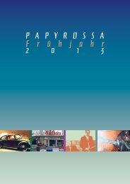Frühjahr 2013 - beim PapyRossa Verlag!