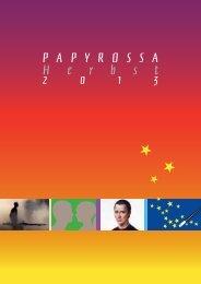 Herbst 2013 - beim PapyRossa Verlag!