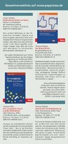 Download Programmauswahl Herbst 2013 - beim PapyRossa Verlag! - Seite 3