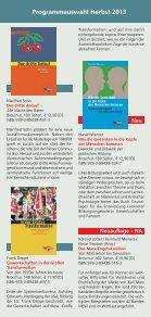 Download Programmauswahl Herbst 2013 - beim PapyRossa Verlag! - Seite 6