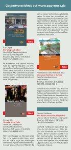 Download Programmauswahl Herbst 2013 - beim PapyRossa Verlag! - Seite 7