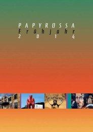 Frühjahr 2014 - beim PapyRossa Verlag!