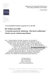 Programm (PDF) - Stiftung Paracelsus heute