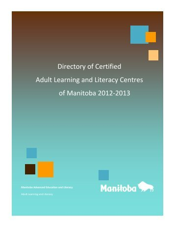 Directory of Certified Adult Learning and ... - Education and Literacy