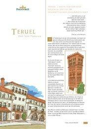 Teruel und sein Parador [broschüre] - Paradores
